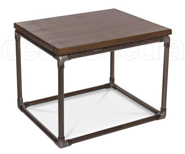 """Else"" Metal Wood Coffee Table"