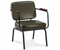 """Twist"" Vintage PU Armchair"