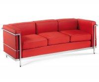 """""""Isotta"""" Vintage Padded Sofa - 3 Seaters"""